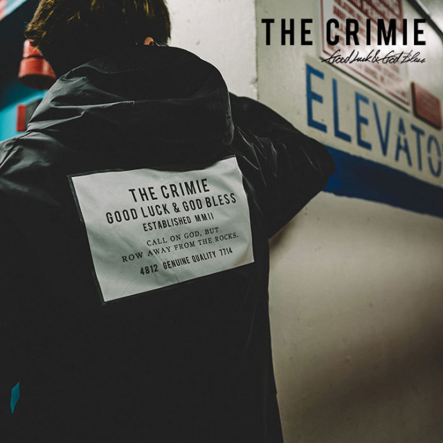 CRIMIE(クライミー) HOOD COACHES BOX LOGO JACKET 【2019SPRING/SUMMER新作】 【C1K1-JK22】【コーチジャケット】