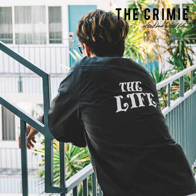 CRIMIE(クライミー) COACHES THE LIFE JACKET 【2019SPRING/SUMMER新作】 【C1K1-JK23】【コーチジャケット】