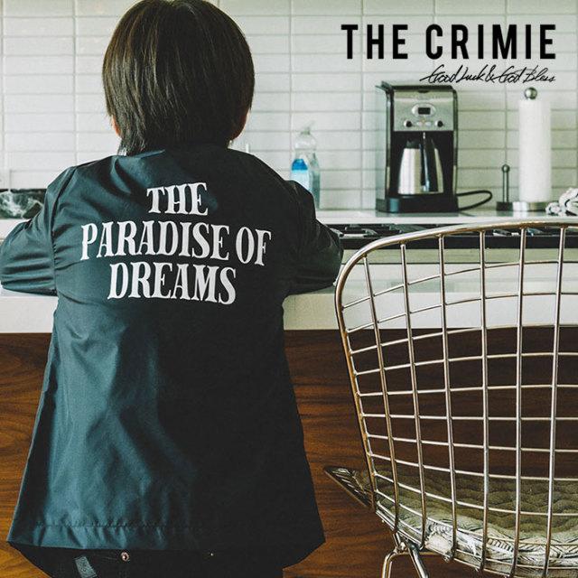 CRIMIE(クライミー) KIDS COACHES MESSAGE JACKET 【2019SPRING/SUMMER先行予約】【キャンセル不可】 【C1K1-K-JK03】【キッズ コ
