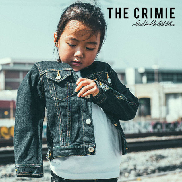 CRIMIE(クライミー) KIDS BORN SILLY INDIGO JACKET 【2019SPRING/SUMMER先行予約】【キャンセル不可】 【C1K1-K-JKD1】【キッズ