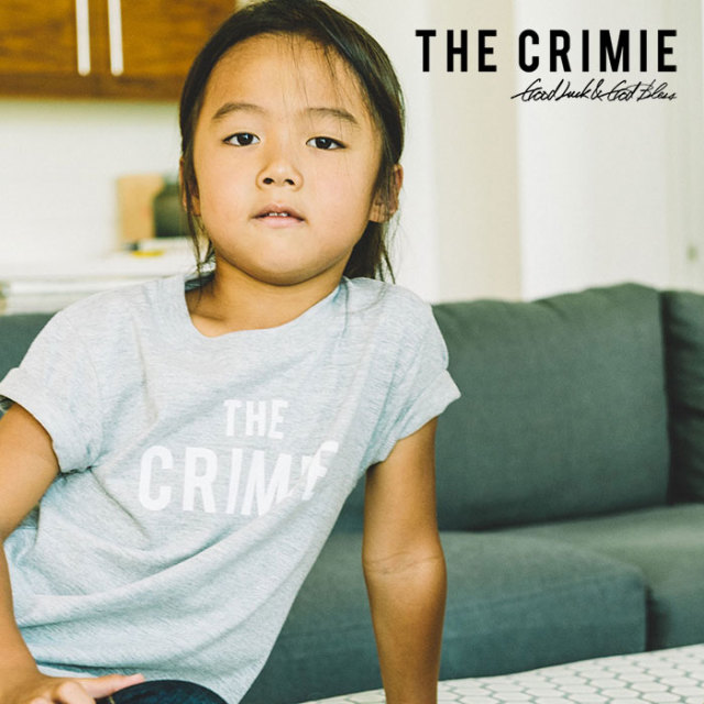 CRIMIE(クライミー) KIDS THE CRIMIE T-SHIRT 【2019SPRING/SUMMER先行予約】【キャンセル不可】 【C1K1-K-TEK1】【キッズ Tシャ