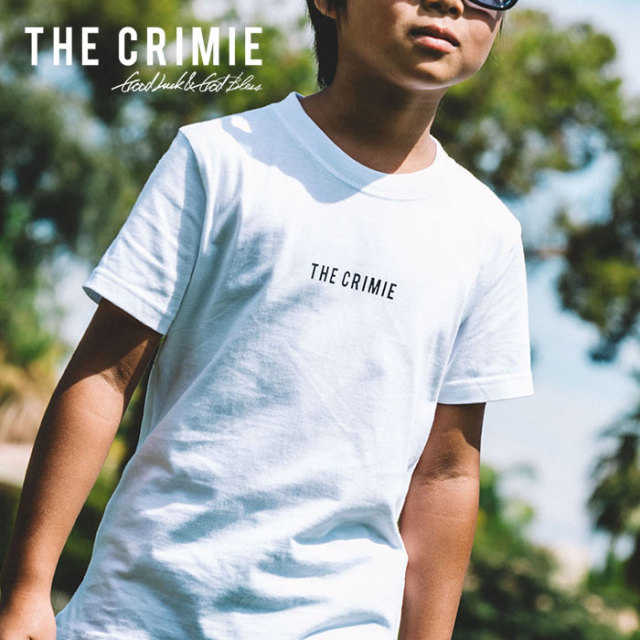 CRIMIE(クライミー) KIDS ONE POINT LOGO T-SHIRT 【2019SPRING/SUMMER先行予約】【キャンセル不可】 【C1K1-K-TEK2】【キッズ T