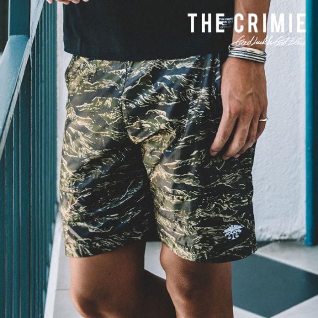 CRIMIE(クライミー) TIGER CAMO 2WAY SHORTS 【2019SPRING/SUMMER先行予約】【キャンセル不可】 【C1K1-PT01】【ショートパンツ】