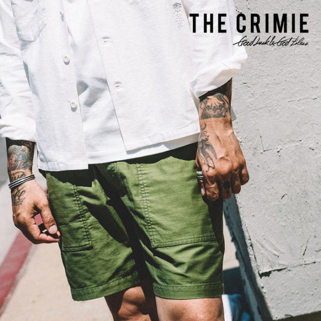 CRIMIE(クライミー) JOE MILITARY SHORTS 【2019SPRING/SUMMER先行予約】【キャンセル不可】 【C1K1-PT03】【ショートパンツ】
