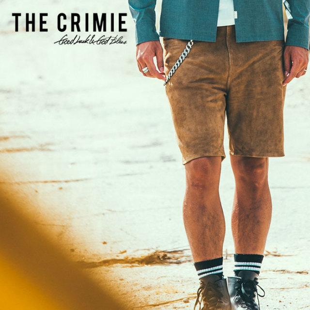 CRIMIE(クライミー) SUEDE SHORTS 【2019SPRING/SUMMER先行予約】【キャンセル不可】 【C1K1-PT10】【ショートパンツ】