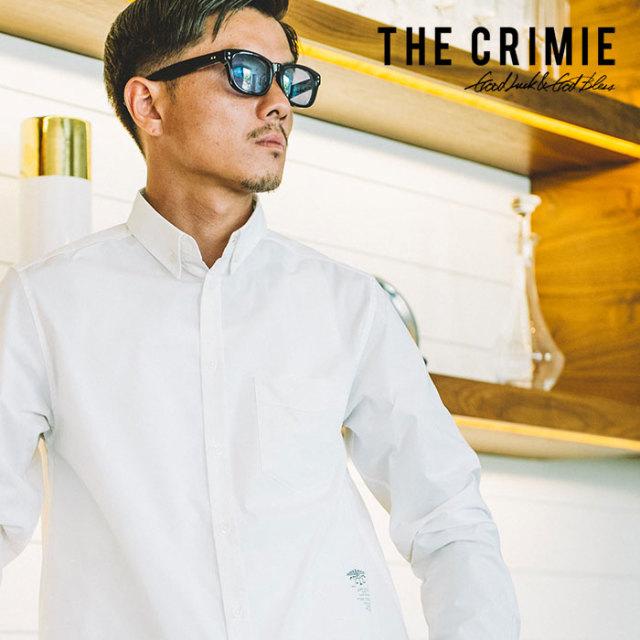 CRIMIE(クライミー) B.D STRETCH TC SLEEVE SHIRT 【2019SPRING/SUMMER先行予約】 【キャンセル不可】【C1K1-SH04】【ボタンダウ