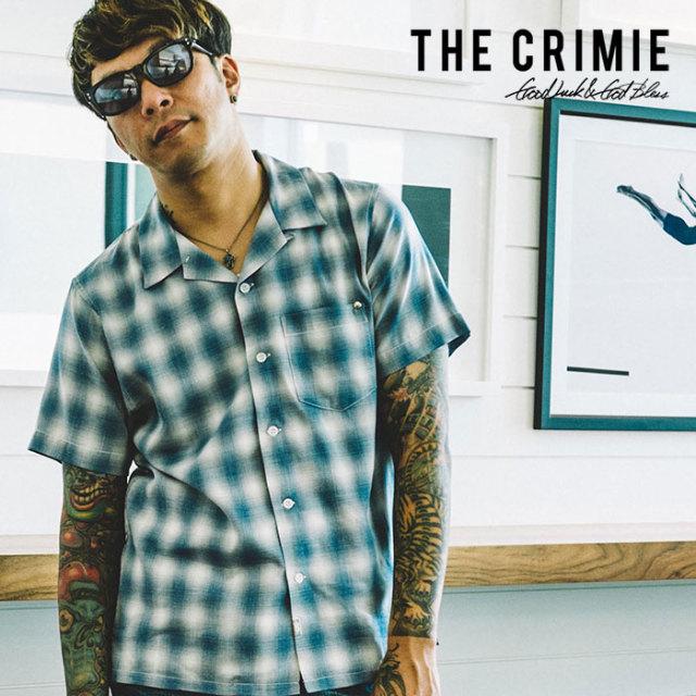 CRIMIE(クライミー) OPEN RAYON SHORT CHECK SHIRT 【2019SPRING/SUMMER先行予約】 【キャンセル不可】【C1K1-SH07】【シャツ】