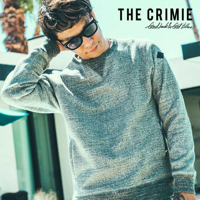 CRIMIE(クライミー) TSURIURAKE SWEAT 【2019SPRING/SUMMER先行予約】 【キャンセル不可】【C1K1-SW02】【スウェット】