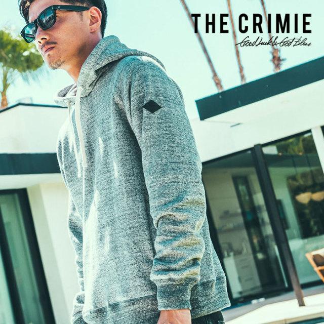 CRIMIE(クライミー) TSURIURAKE HOODED PARKA 【2019SPRING/SUMMER先行予約】 【キャンセル不可】【C1K1-SW02】【スウェット パー