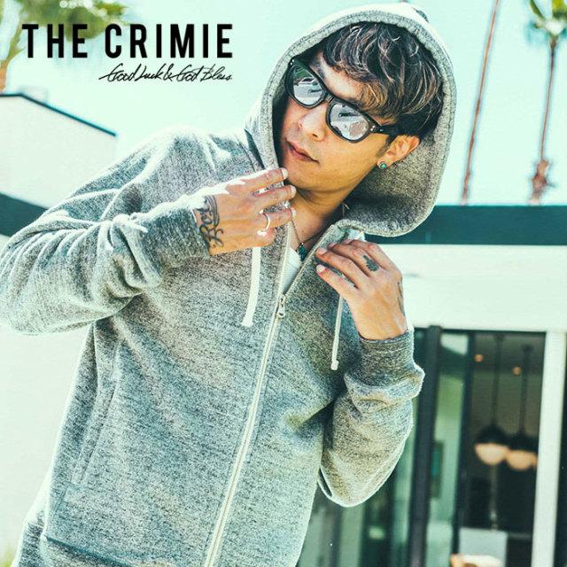 【SALE30%OFF】 CRIMIE(クライミー) TSURIURAKE ZIP HOOD PARKA 【2019SPRING/SUMMER新作】【送料無料】 【C1K1-SW03】吊り裏毛