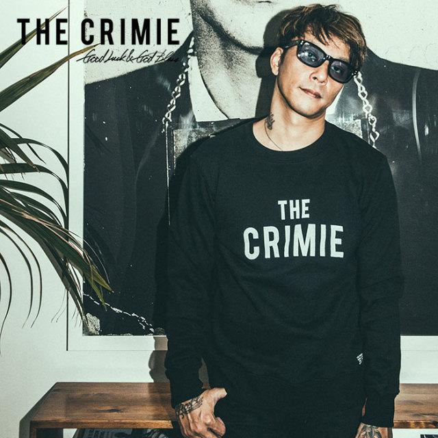 【SALE30%OFF】 CRIMIE(クライミー) SWEAT CREW THE CRIMIE 【2019SPRING/SUMMER新作】【送料無料】 【C1K1-SW10】【クルーネッ