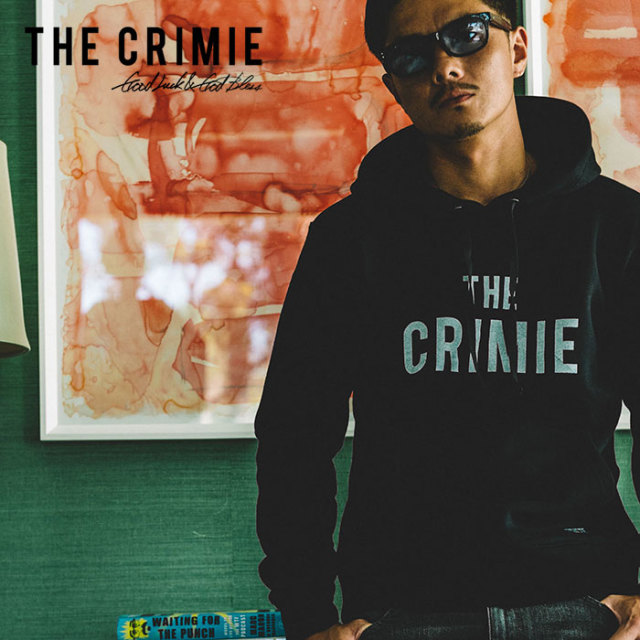 CRIMIE(クライミー) SWEAT PARKA THE CRIMIE 【2019SPRING/SUMMER新作】【C1K1-SW12】【スウェット パーカー】