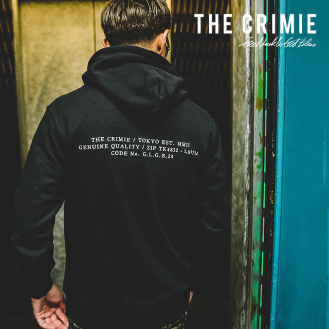 CRIMIE(クライミー) SWEAT PARKA MILITARY CODE 【2019SPRING/SUMMER新作】【C1K1-SW13】【スウェット パーカー】