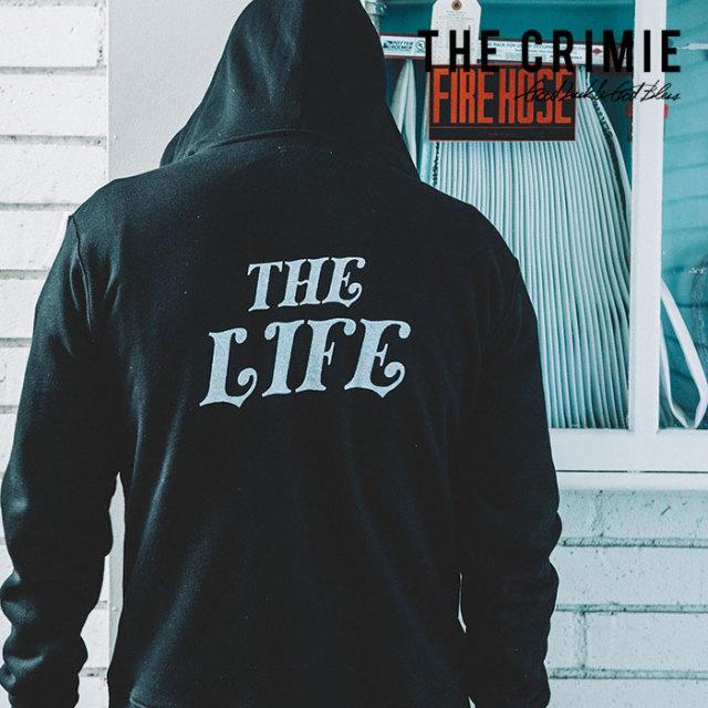 【SALE30%OFF】 CRIMIE(クライミー) SWEAT ZIP PARKA THE LIFE 【2019SPRING/SUMMER新作】【送料無料】 【C1K1-SW14】【スウェッ