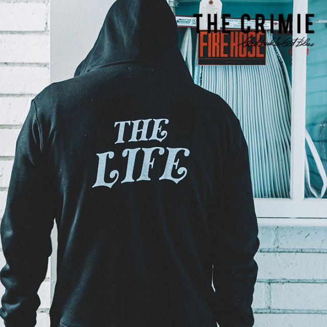 CRIMIE(クライミー) SWEAT ZIP PARKA THE LIFE 【2019SPRING/SUMMER新作】【C1K1-SW14】【スウェット ジップパーカー】
