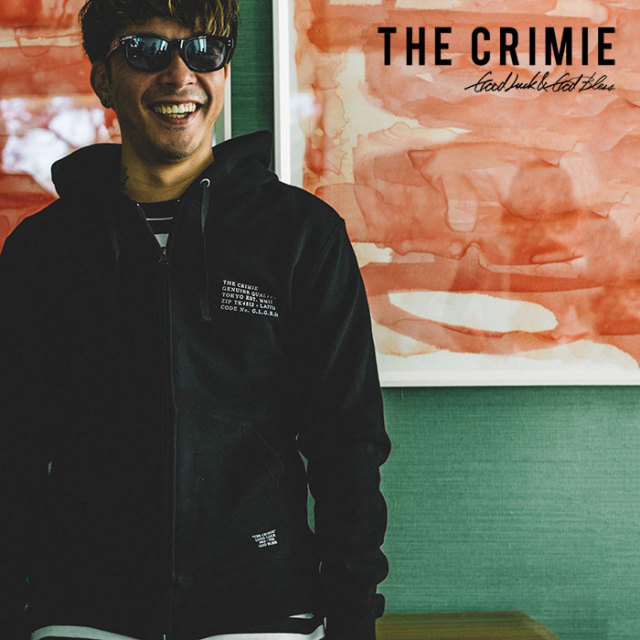 CRIMIE(クライミー) SWEAT ZIP PARKA MILITARY CODE 【2019SPRING/SUMMER新作】 【C1K1-SW15】【スウェット ジップパーカー】