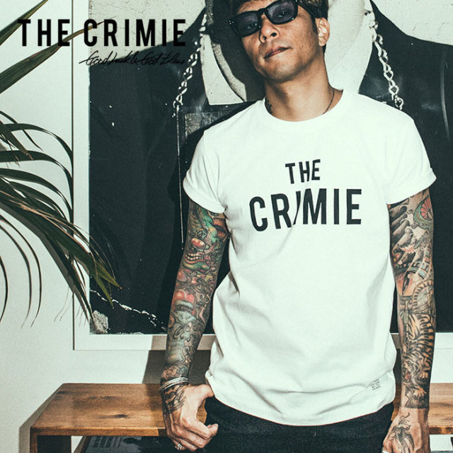 CRIMIE(クライミー) THE CRIMIE LOGO T-SHIRT 【2019SPRING/SUMMER新作】 【C1K1-TE03】【ロゴ Tシャツ】