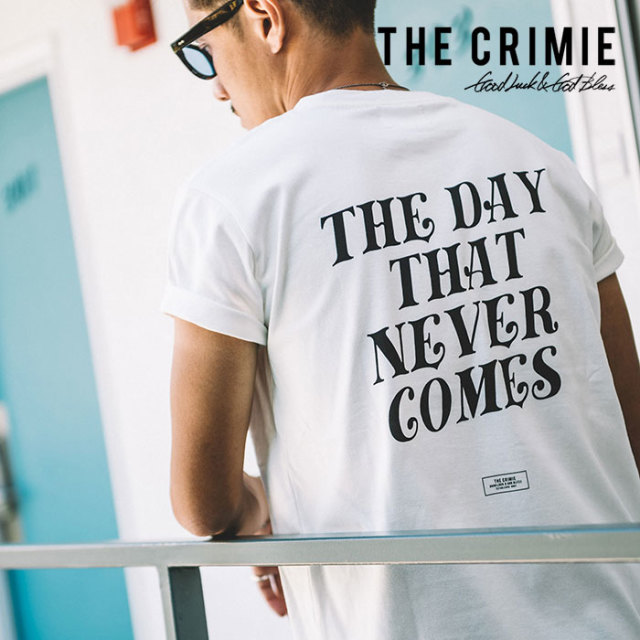 CRIMIE(クライミー) THE LIFE T-SHIRT 【2019SPRING/SUMMER新作】 【C1K1-TE05】【Tシャツ】