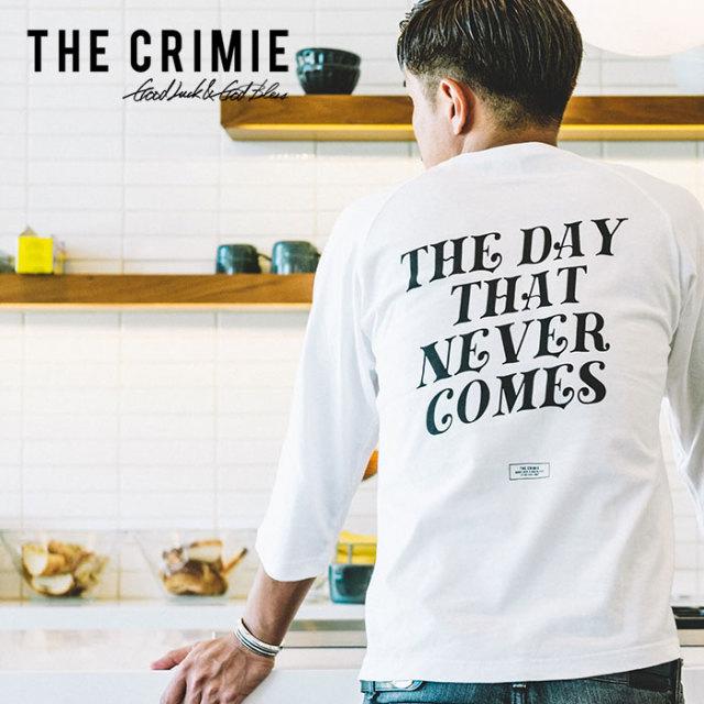 【SALE30%OFF】 CRIMIE(クライミー) THE LIFE 7TH SLEEVE 【2019SPRING/SUMMER新作】【クライミー セール】 【C1K1-TE08】【7分