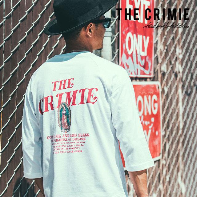 CRIMIE(クライミー) GUADALUPE 7TH SLEEVE 【2019SPRING/SUMMER先行予約】 【キャンセル不可】【C1K1-TE09】【グアダルーペ 7分丈
