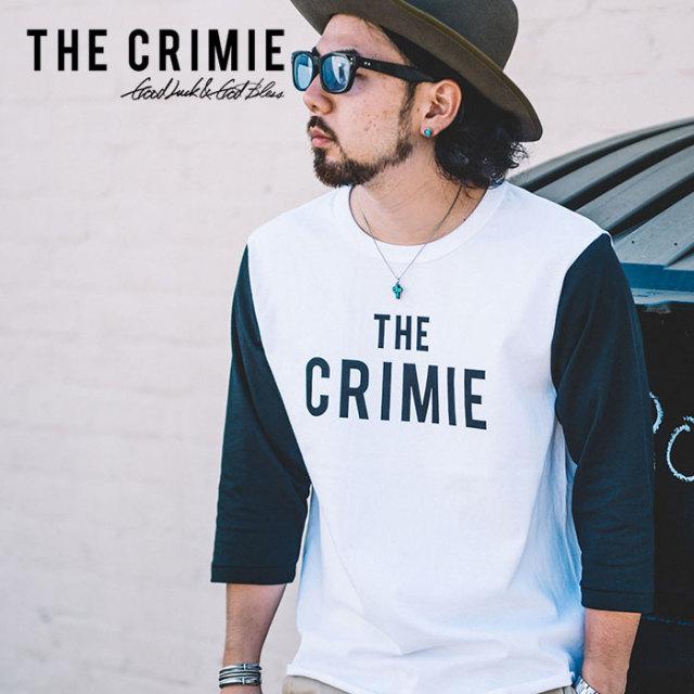CRIMIE(クライミー) THE CRIMIE BASE BALL T-SHIRT 【2019SPRING/SUMMER先行予約】 【キャンセル不可】【C1K1-TE10】【ベースボー