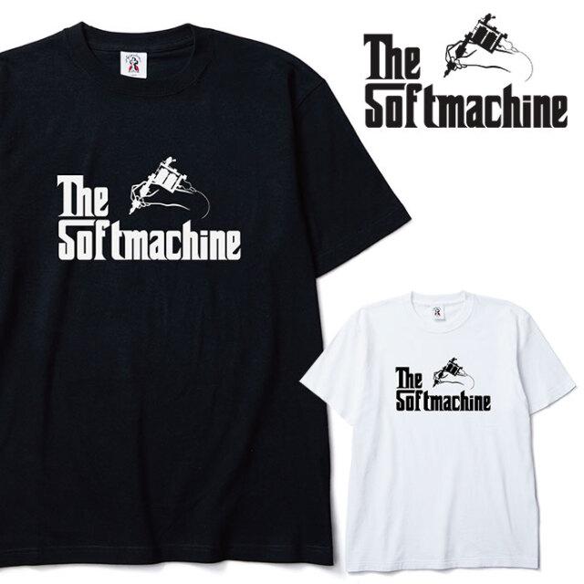 SOFTMACHINE(ソフトマシーン) GOD-T 【Tシャツ 半袖】【ホワイト ブラック タトゥー】【2020AUTUMN&WINTER先行予約】【キャンセル