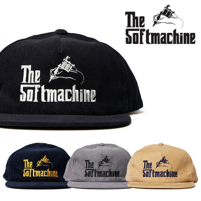 SOFTMACHINE(ソフトマシーン) GOD CORD CAP 【コーデュロイキャップ 帽子】【ブラック グレー ベージュ ネイビー タトゥー】【2020