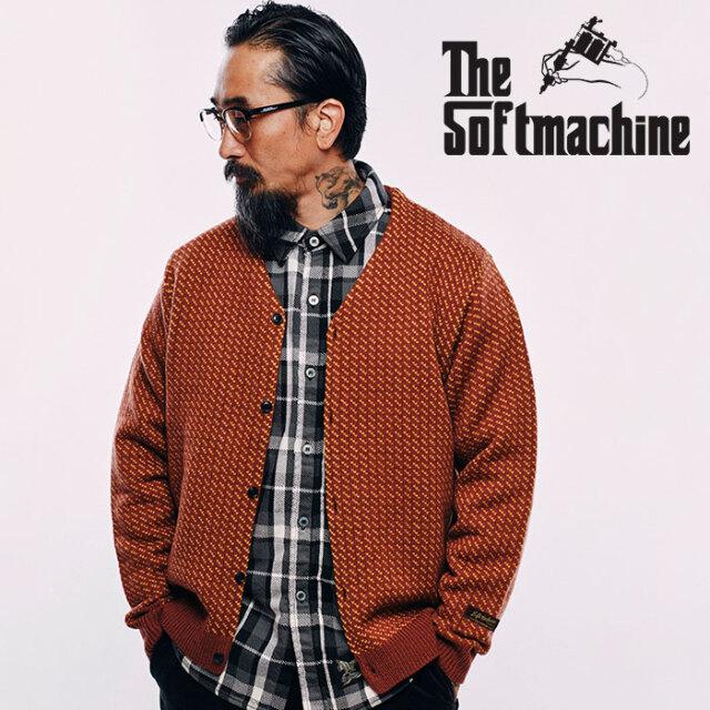 SOFTMACHINE(ソフトマシーン) GRACE CARDIGAN 【ニット カーディガン】【ブラック ブラウン タトゥー】【2020AUTUMN&WINTER先行予
