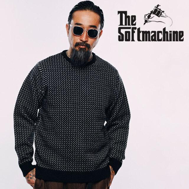 SOFTMACHINE(ソフトマシーン)  GRACE SWEATER 【ニット セーター】【ブラック ブラウン タトゥー】【2020AUTUMN&WINTER先行予約】