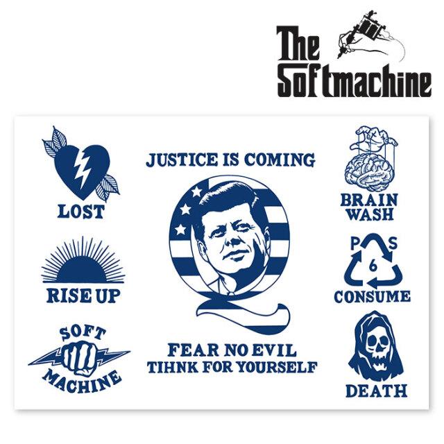 SOFTMACHINE(ソフトマシーン) JUSTICE FLASH 【フラッシュ ポスター タトゥー】【2020AUTUMN&WINTER新作】