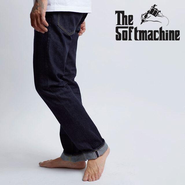 SOFTMACHINE(ソフトマシーン) NEW LIFE SLIM 【デニム パンツ】【インディゴ ブラックデニム タトゥー】【2020AUTUMN&WINTER先行予