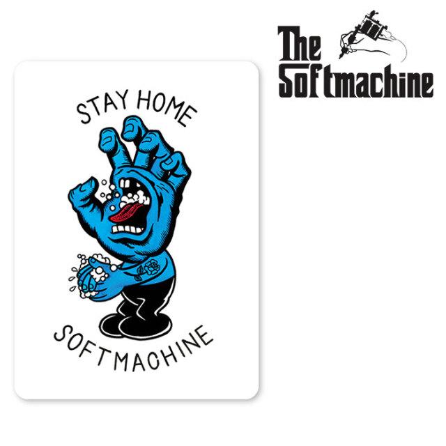 SOFTMACHINE(ソフトマシーン) STAY HOME STICKER 【ステッカー タトゥー】【2020AUTUMN&WINTER新作】
