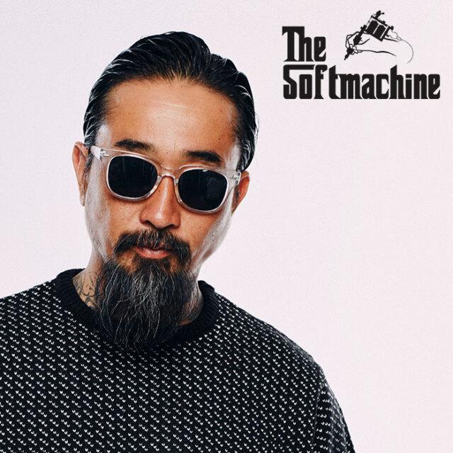 SOFTMACHINE(ソフトマシーン) TOLUCA GLASS 【サングラス グラサン メガネ】【ブラック クリア スモーク ブラウンタトゥー】【2020