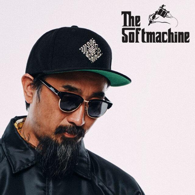 SOFTMACHINE(ソフトマシーン) TRIBUS CAP 【ウールキャップ 帽子】【ブラック グレー タトゥー】【2020AUTUMN&WINTER先行予約】【