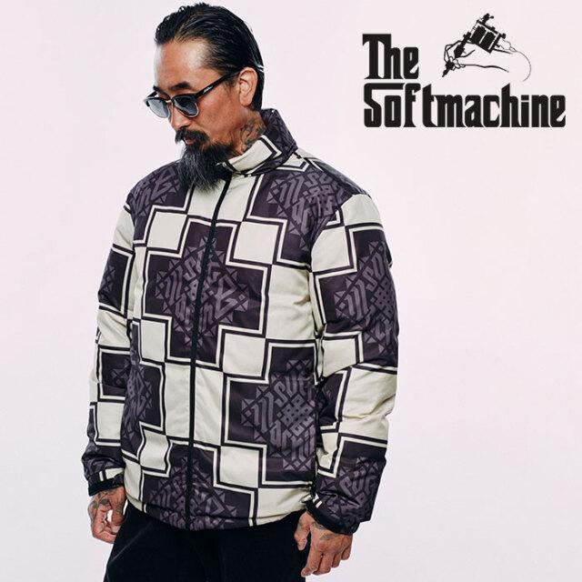 SOFTMACHINE(ソフトマシーン) TRIBUS DOWN JK 【ダウンジャケット】【ブラック ホワイト タトゥー】【2020AUTUMN&WINTER先行予約】