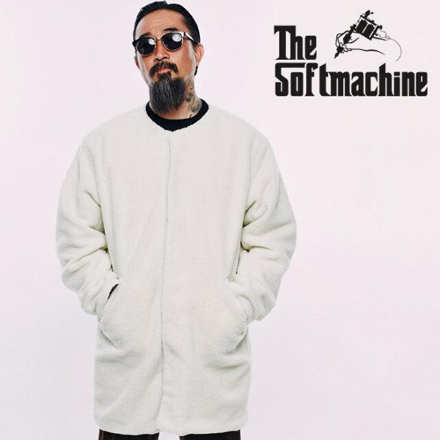 SOFTMACHINE(ソフトマシーン) TRIBUS LINNER JK 【リバーシブル コート ジャケット】【ブラック ホワイト タトゥー】【2020AUTUMN&