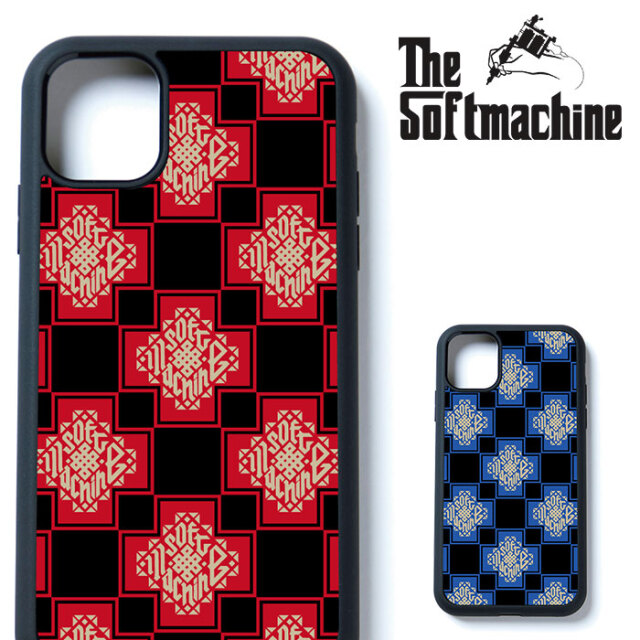 SOFTMACHINE(ソフトマシーン) TRIBUS iPhone CASE 【iphone ケース タトゥー TATTOO おしゃれ】【7&8,7&8 Plus,X,XS,XR,XS MAX,11,