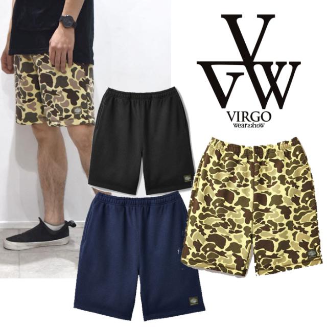 【SALE30%OFF】 VIRGO ヴァルゴ バルゴ STD SWEAT SHORTS 【INDEPENDENCE by VIRGOwearworks】 【VG-PL-725】【ショートパンツ