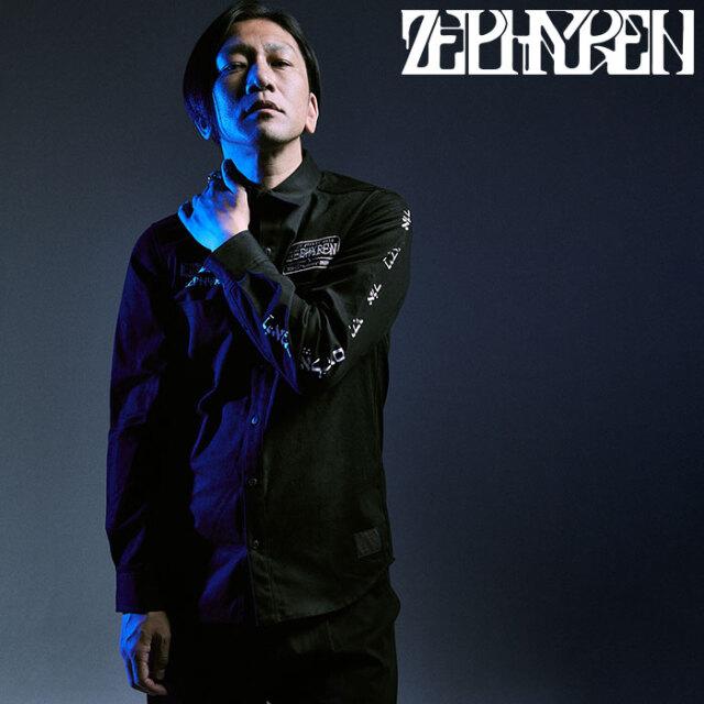 ZEPHYREN(ゼファレン) EMBLEM SHIRT L/S - fiat lux - 【シャツ 長袖】【Z16AD01】【2020AUTUMN&WINTER先行予約】【キャンセル不可