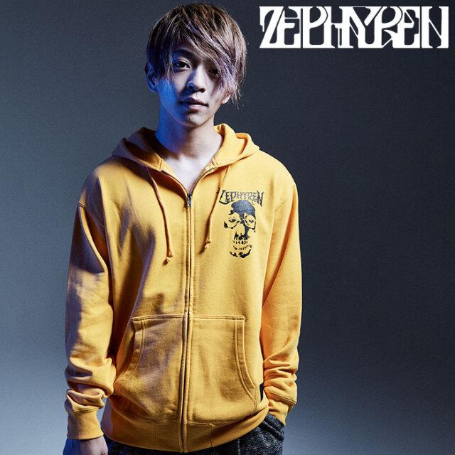 ZEPHYREN(ゼファレン) ZIP PARKA - SKULL HEAD - 【ジップパーカー】【Z16AN02】 【2020AUTUMN&WINTER先行予約】【キャンセル不可