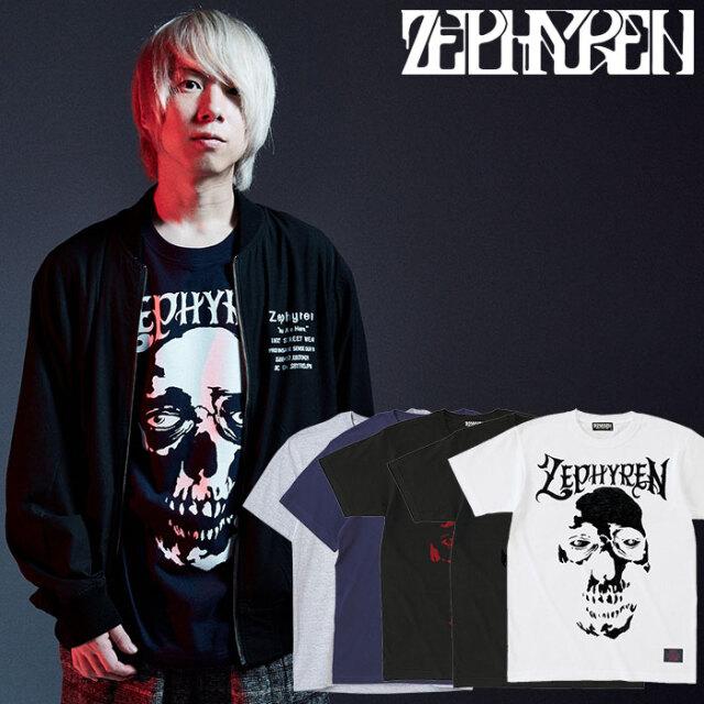 ZEPHYREN(ゼファレン) S/S TEE - SKULL HEAD - 【Tシャツ 半袖】【Z16UL05】 【2020AUTUMN&WINTER先行予約】【キャンセル不可】