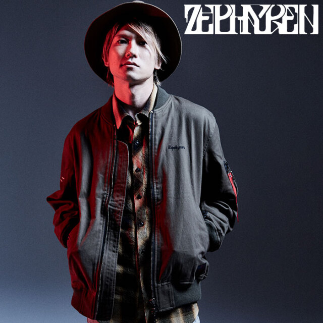 ZEPHYREN(ゼファレン) OME-1 オメでたい頭でなにより×Zephyren 【MA-1ジャケット】【Z20AA02】【2020AUTUMN&WINTER先行予約】【キ