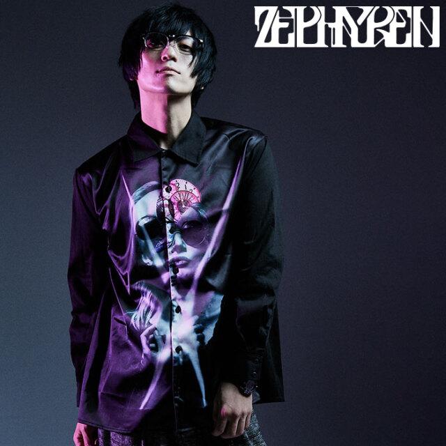 ZEPHYREN(ゼファレン) PHOTO PRINT SHIRT L/S- variat omnia tempus / aurea mediocritas - 【シャツ 長袖】【Z20AD16】【2020AUTU