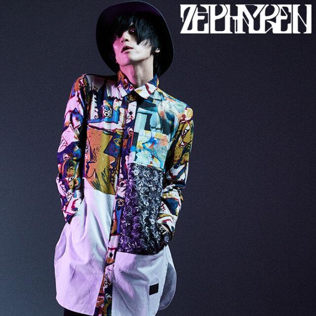 ZEPHYREN(ゼファレン) SWITCHING LONG SHIRT L/S - Resolve - 【ロングシャツ 長袖】【Z20AD17】 【2020AUTUMN&WINTER先行予約】