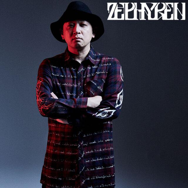 ZEPHYREN(ゼファレン) BIG SHIRT L/S - As above,So below - 【ビッグシャツ 長袖】【Z20AD18】 【2020AUTUMN&WINTER先行予約】【