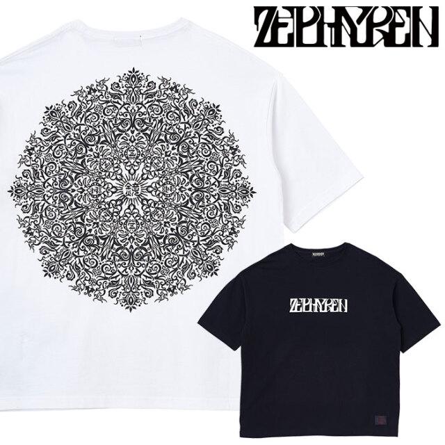 ZEPHYREN(ゼファレン) BIG TEE - VISIONARY / Kaleidoscope - 【Tシャツ 半袖】【Z20AL27】 【2020AUTUMN&WINTER先行予約】【キャ