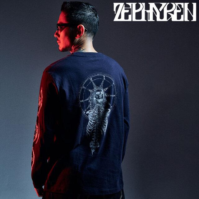 ZEPHYREN(ゼファレン) L/S TEE - As above,So below - 【ロングスリーブTシャツ 長袖】【Z20AM28】 【2020AUTUMN&WINTER先行予約