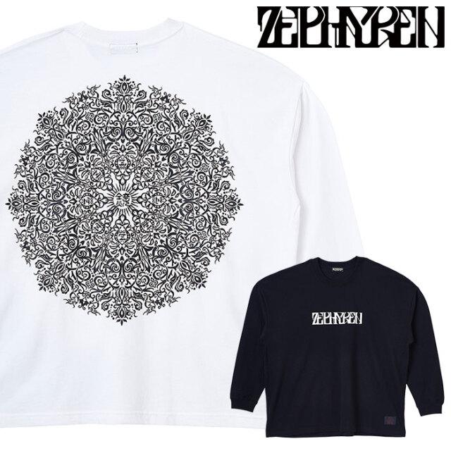 ZEPHYREN(ゼファレン) BIG L/S TEE - VISIONARY / Kaleidoscope - 【ロングスリーブTシャツ 長袖】【Z20AM30】 【2020AUTUMN&WINT