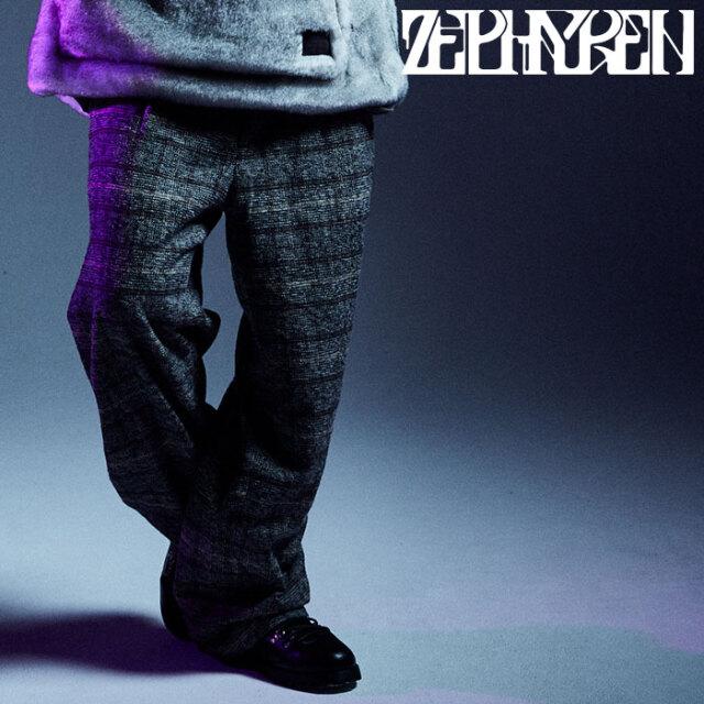 ZEPHYREN(ゼファレン) WIDE SLACKS 【スラックス】【Z20AQ37】 【2020AUTUMN&WINTER先行予約】【キャンセル不可】