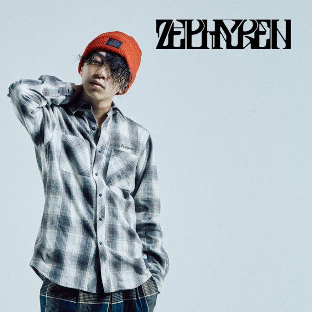 ZEPHYREN(ゼファレン) CHECK SHIRT L/S -Resolve - 【シャツ 長袖】【Z21AD13】【2021AUTUMN&WINTER先行予約】【キャンセル不可】